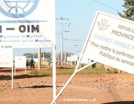 Burundi aid billboards