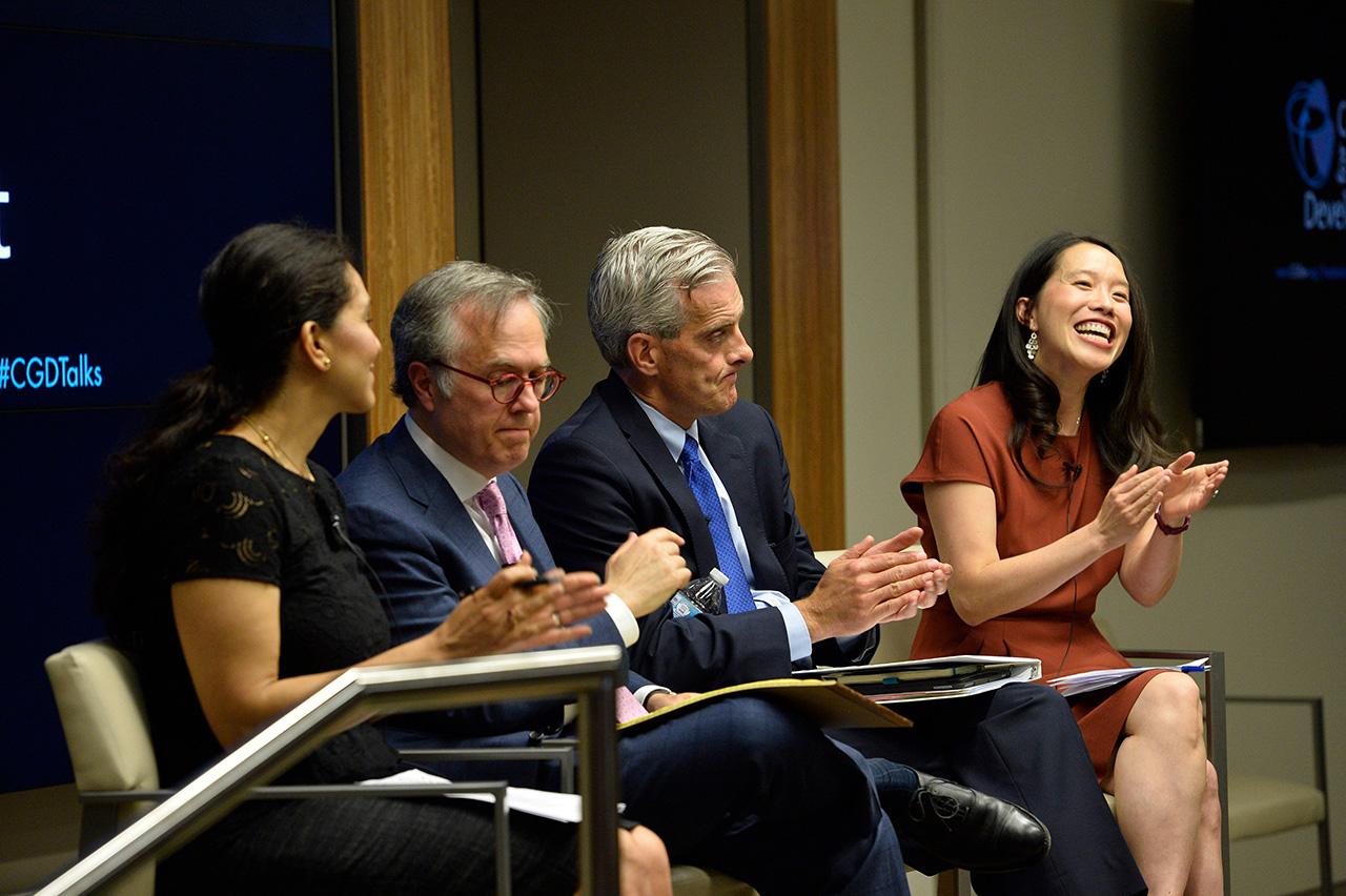 Nazanin Ash, Michael Gerson, Denis McDonough, Cindy Huang