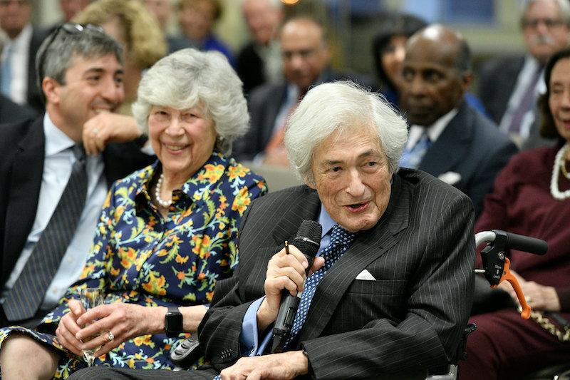 Elaine and Jim Wolfensohn at CGD