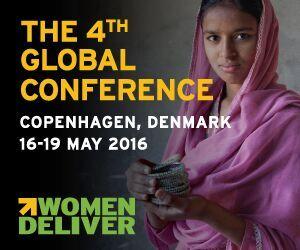 Women Deliver banner
