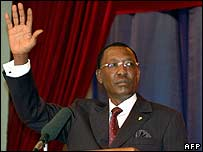 Idriss Deby, President of Chad