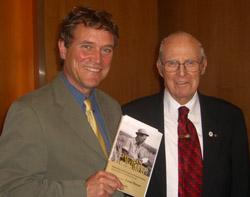 Lawrence MacDonald and Norman Borlaug
