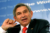 Paul Wolfowitz, President World Bank