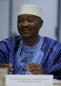 The President of the Republic of Mali<br /> H.E. Amadou Toumani Toure