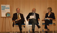 Fred Bergsten, Joseph Stiglitz and Nancy Birdsall