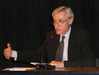 Dennis de Tray farewell speech, World Bank