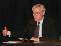 Dennis de Tray farewell speech, World Bank