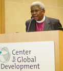 Archbishop Njongonkulu Ndungane of South Africa