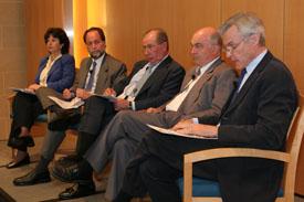 Discussion Panel: Liliana Rojas-Suarez, Ricardo Haussman, Rodrigo de Rato, Kemal Dervis, Dennis de Tray