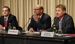 Domenico Lombardi, Trevor Manuel, Lawrence MacDonald