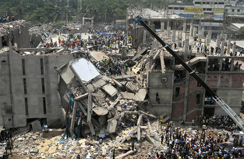 disaster in bangladesh the collapse of Prosecutors are charging 42 people with murder over the rana plaza disaster that killed more 17 people accused of flouting rules before bangladesh factory collapse.