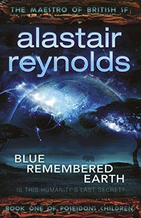 book cover: Blue Remembered Earth