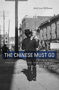 book cover: The Chinese Must Go