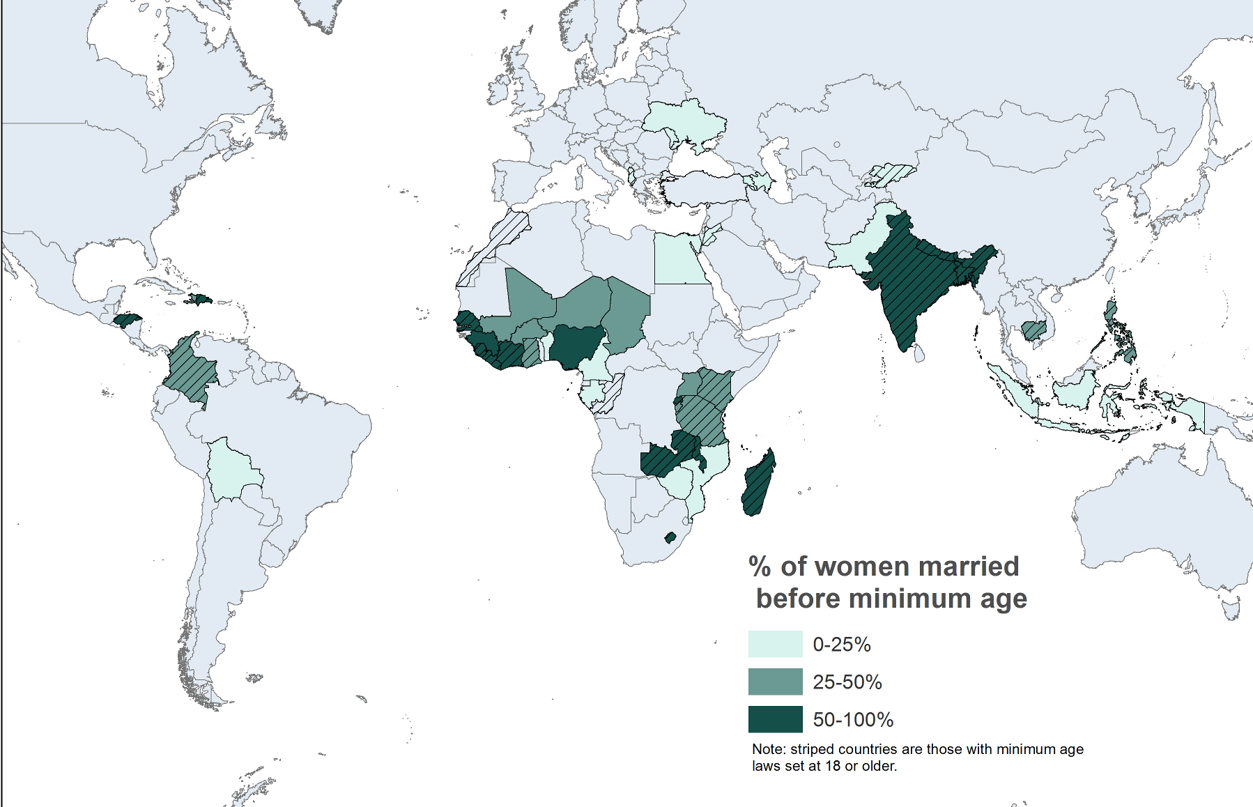Child Marriage Chart 1