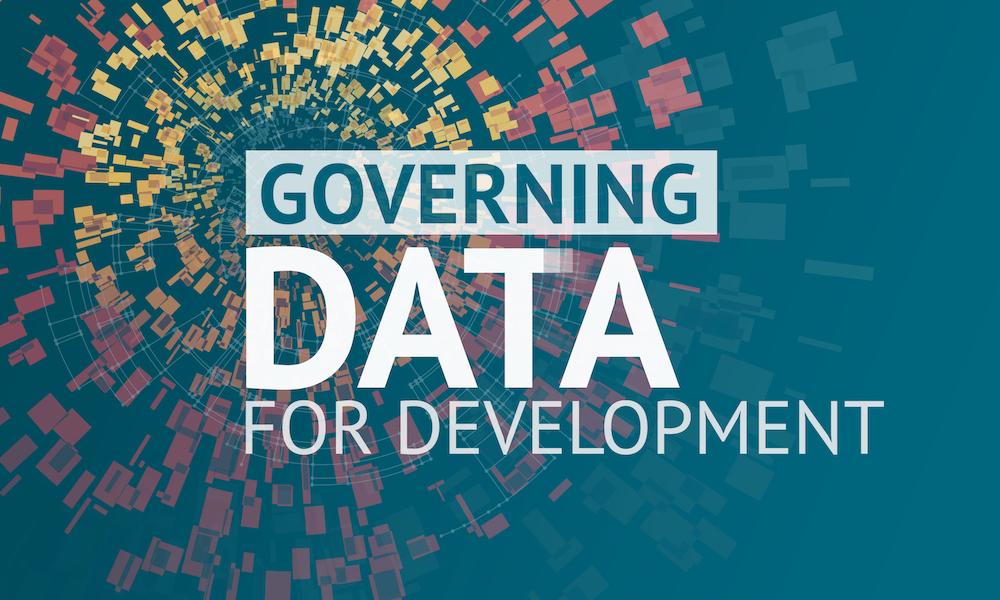 Banner that says Governing Data for Development