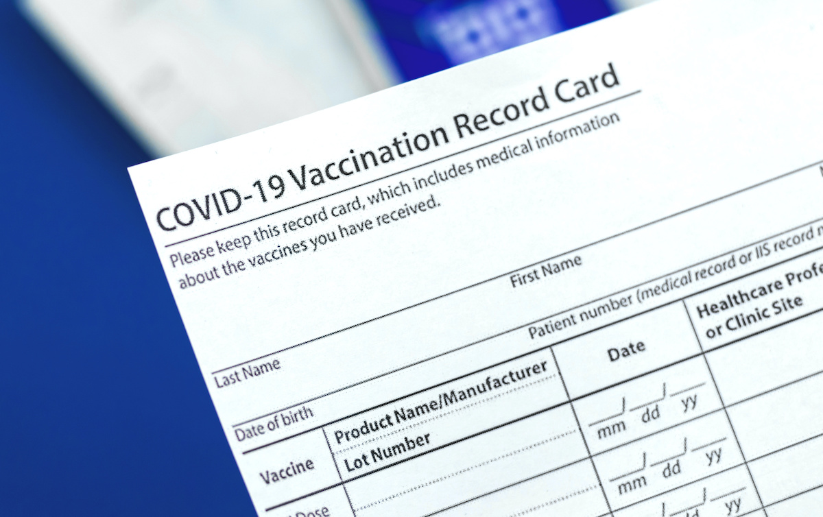 COVID-19 Vaccine Certificate: Will the US Catch Up with the Rest of the  World? | Center For Global Development