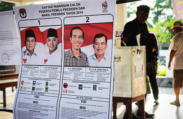 Development blog: Much Hangs in the Balance in Indonesia's Election