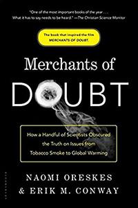 book cover: Merchants of Doubt