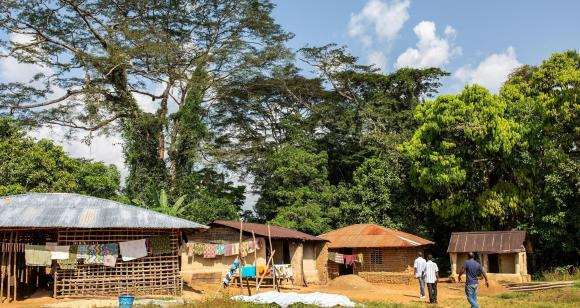 One of the communities served by a Luminos school.