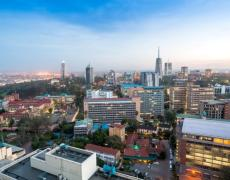 An image of the Nairobi cityscape.