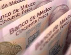 An image of Mexican pesos.