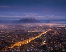 An image of the cityscape of Cape Town, South Africa