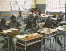 Classroom in Namibia