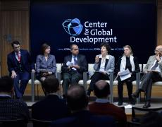 Liliana Rojas-Suarez speaks at Global Economy in 2019: What Policymakers Need to Know, a CGD event.