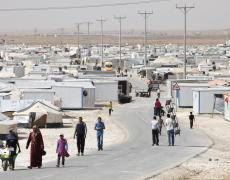 The Zaatari refugee camp in Jordan. Photo by Dominic Chavez, World Bank