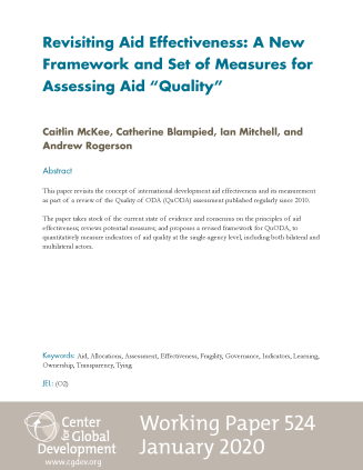 Cover image aid effectiveness paper