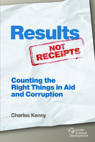 Results Not Receipts book cover