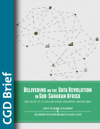 Delivering on a Data Revolution in Sub-Saharan Africa brief