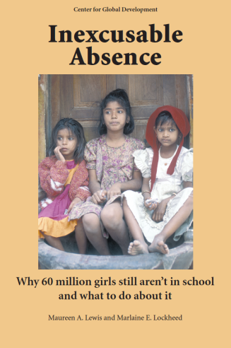 Cover of Inexcusable Absence: Why 60 Million Girls Still Aren't In School and What to do About It