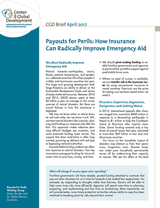 Payouts for Perils Brief Cover