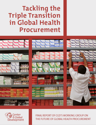 Procurement Working Group Report Cover