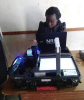 A registration officer in Malawi's National Registration and Identification System