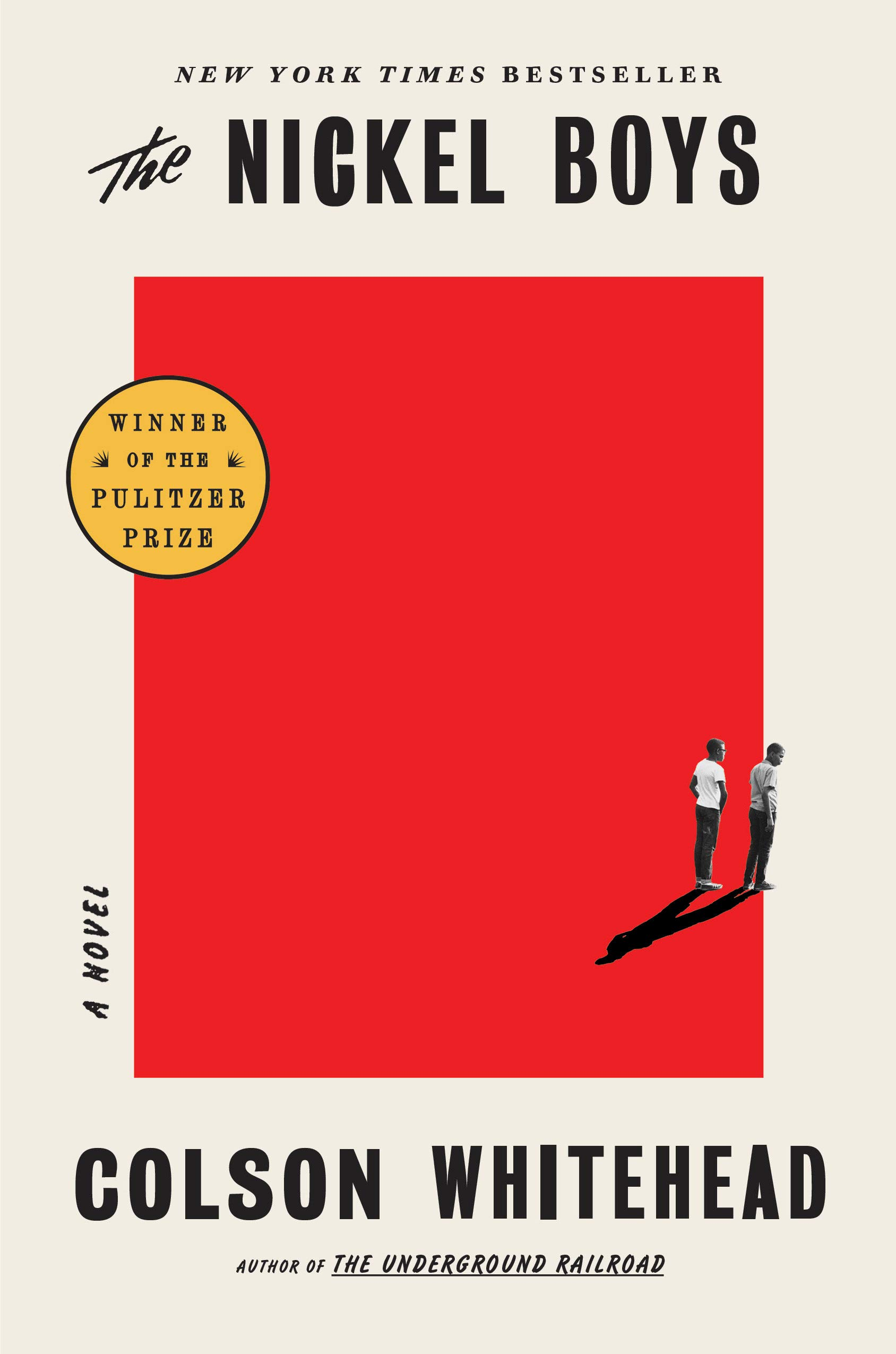 Book cover of Nickel Boys