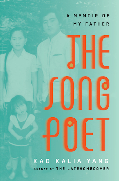 Book cover of The Song Poet