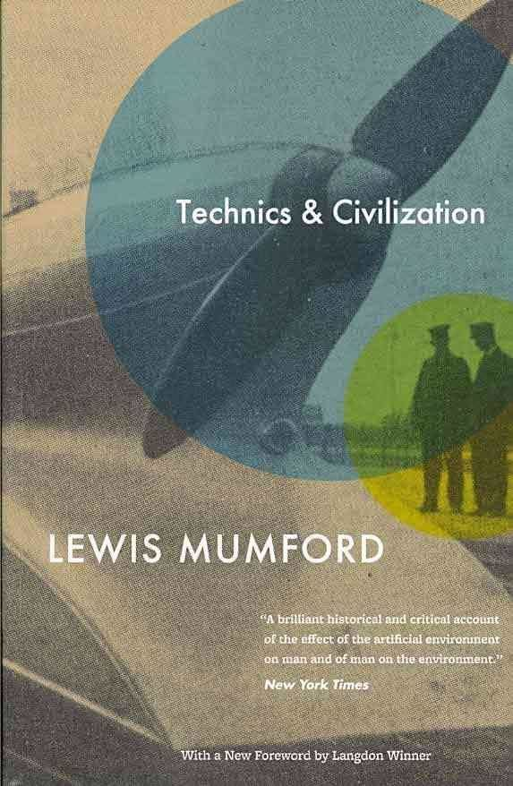 Book cover of Technics and Civilization