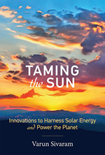 book cover: Taming the Sun